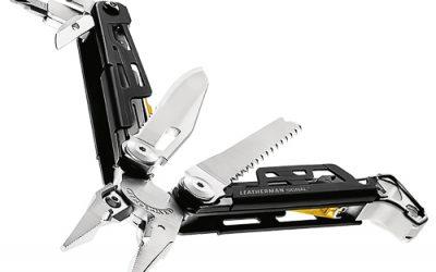 Pinza coltello multifunzione: leatherman